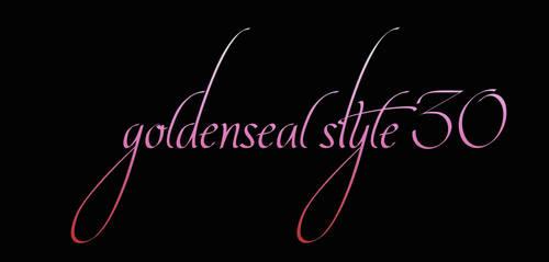 Goldenseal Style 30 by goldensealgraphic