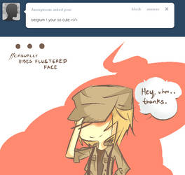 [ Q and A 3 ] ..Cute? You gotta be kidding. by AskNyoBelgium