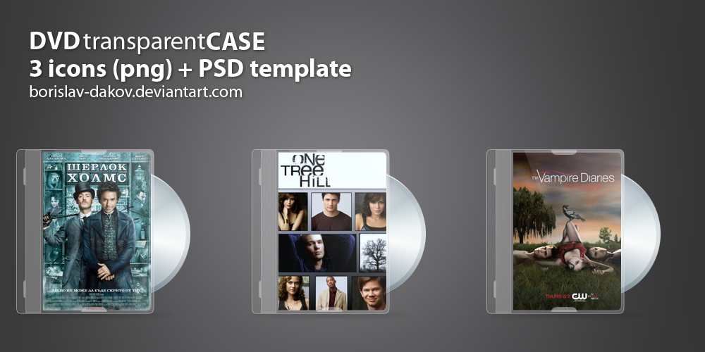 DVD transparent case + PSD by borislav-dakov on DeviantArt