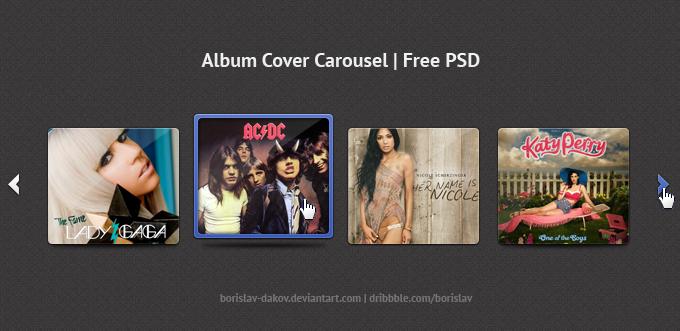 Album Cover Carousel by borislav-dakov