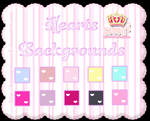 Cute Hearts Backgrounds