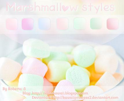 http://kawaiiprincess2.deviantart.com/art/Marshmallow-Styles-405299500?q=gallery%3Akawaiiprincess2&qo=0