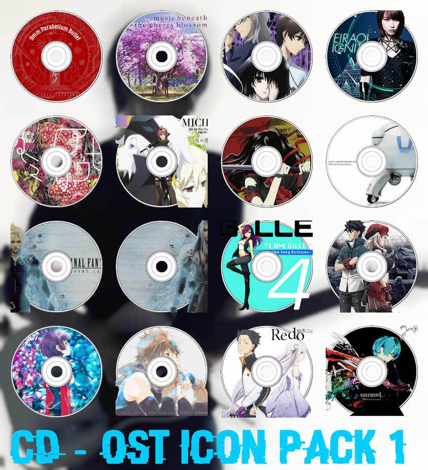 CD / OST Icon Pack 1