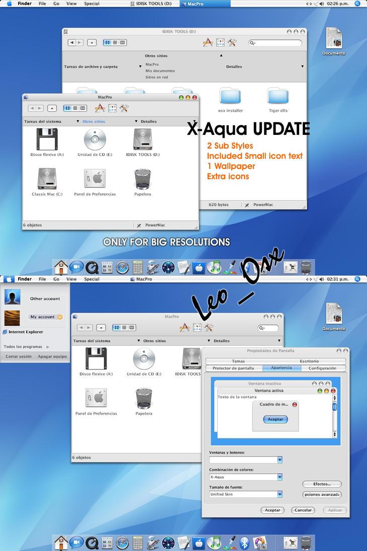 X-Aqua Update by leoprj