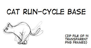 Cat Run-Cycle Base (Ver 2)