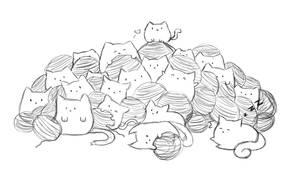 Doodle- Cat topia