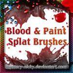 Blood + Paint Splat Brushes