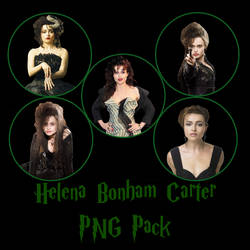 Helen Bonham Carter PNG Pack by Jonny-mcgregory