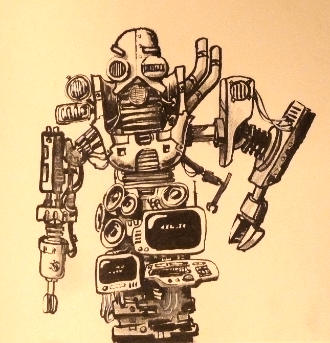 Robot by TorrentialRains