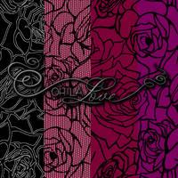 Rose Lace pattern backgrounds by ohlalove