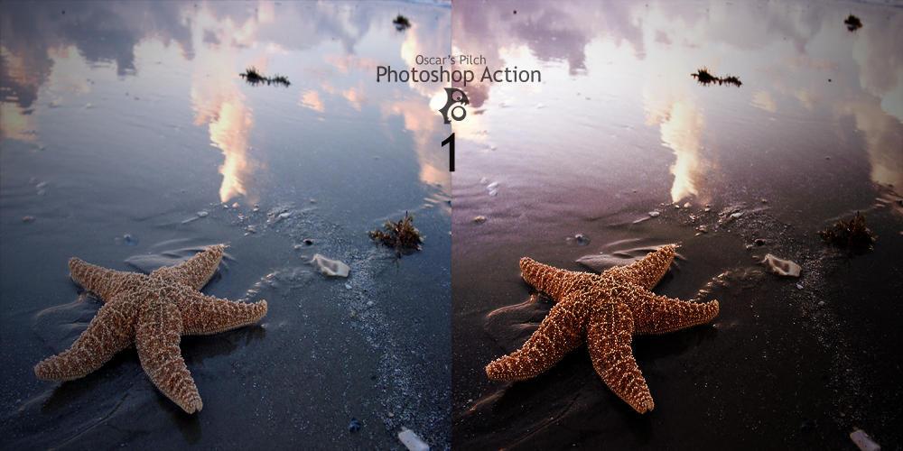 Oscar Pilch Photoshop Action 1 by w1zzy