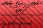 Gipsy Heart font