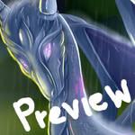:GIF: Dragon rain by AlishDark