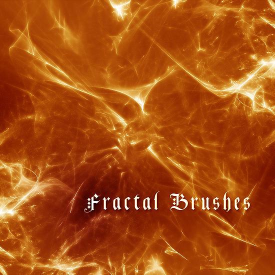 Fractal Brush Set by 1-1