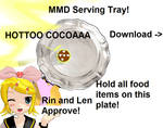 MMD Serving Tray DL