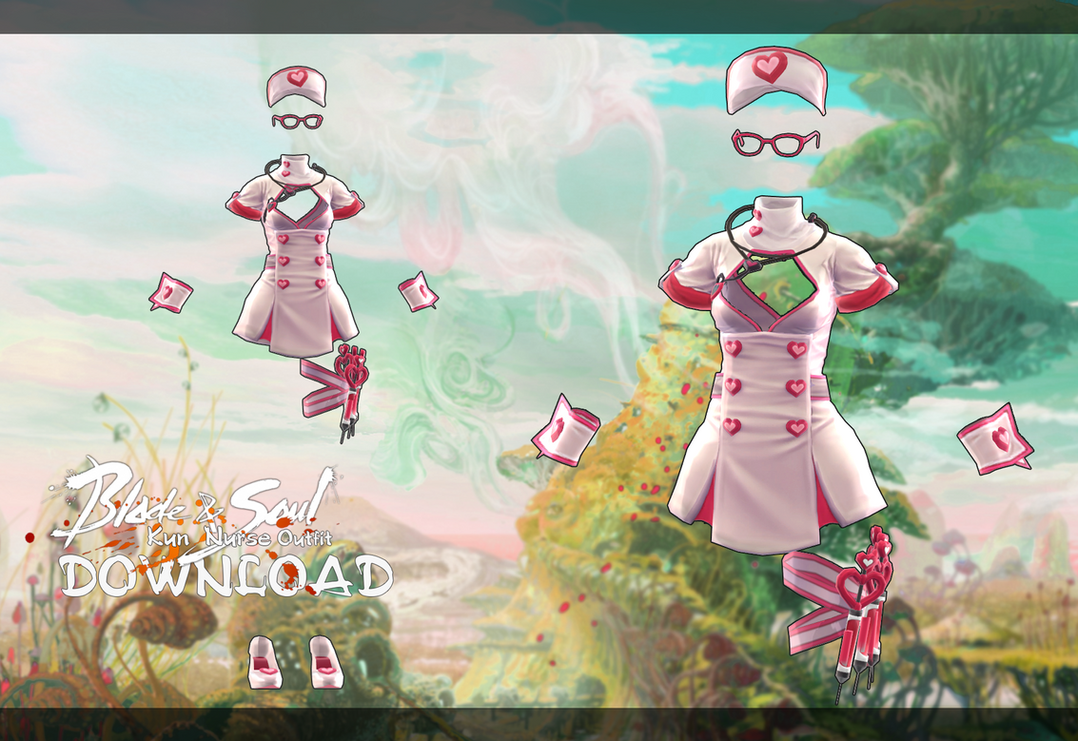 Kun Nurse Outfit DL By MirelHelly On DeviantArt