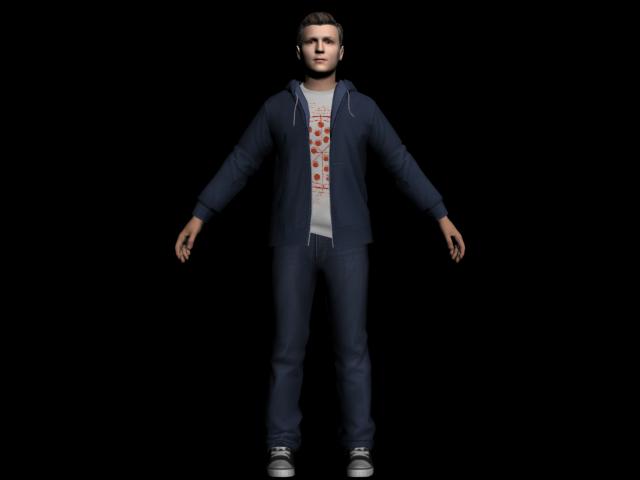 Model Obj Tom Holland /Peter Parker