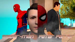 Skins Spider-Man And Peter Parker GTA Sa