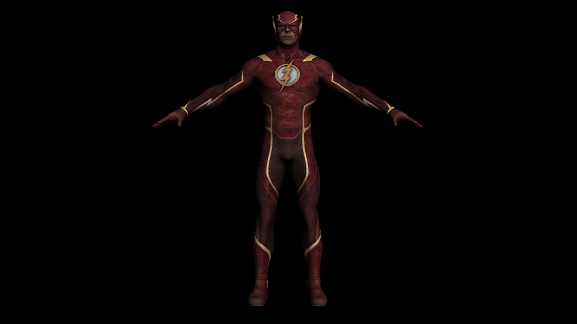 The flash injustice 2 mobile by laxxter on deviantart for Deviantart 3d models