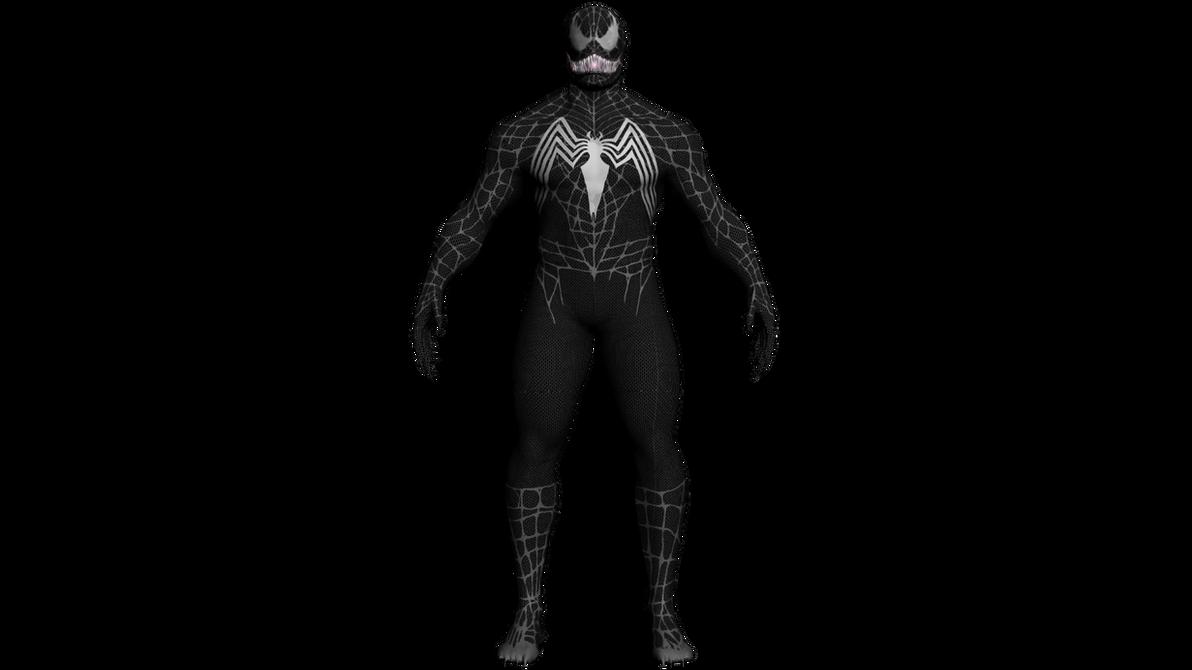 Venom - The Spider-Man 3 The Game Obj by LaxXter