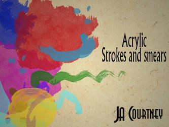 Arcylic Brushes by jastock