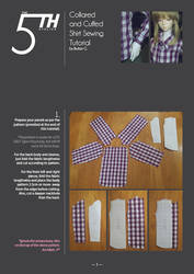Collared and Cuffed Shirt Tutorial by Ylden
