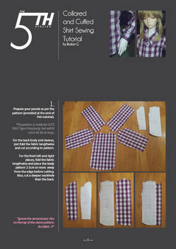 Collared and Cuffed Shirt Tutorial
