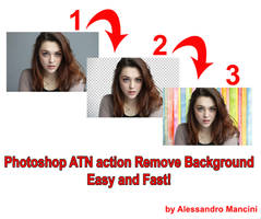 REMOVE BACKGROUND ATN action by AlessandroMancini