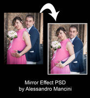 Mirror Effect PSD by AlessandroMancini