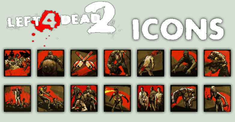 L4D2 Icon Pack by atagene