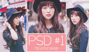 PSD Coloring #1 by MILK0512
