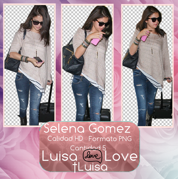 Pack Selena Gomez En ZIP by LuisaLoveEditor on DeviantArt