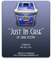 Just In Case - LP case icons by donkeybeatz