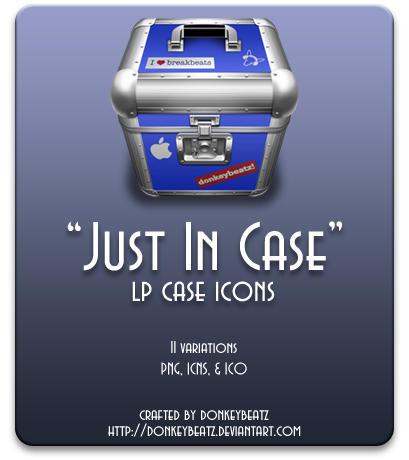 Just In Case - LP case icons by donkeybeatz