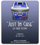 Just In Case - LP case icons