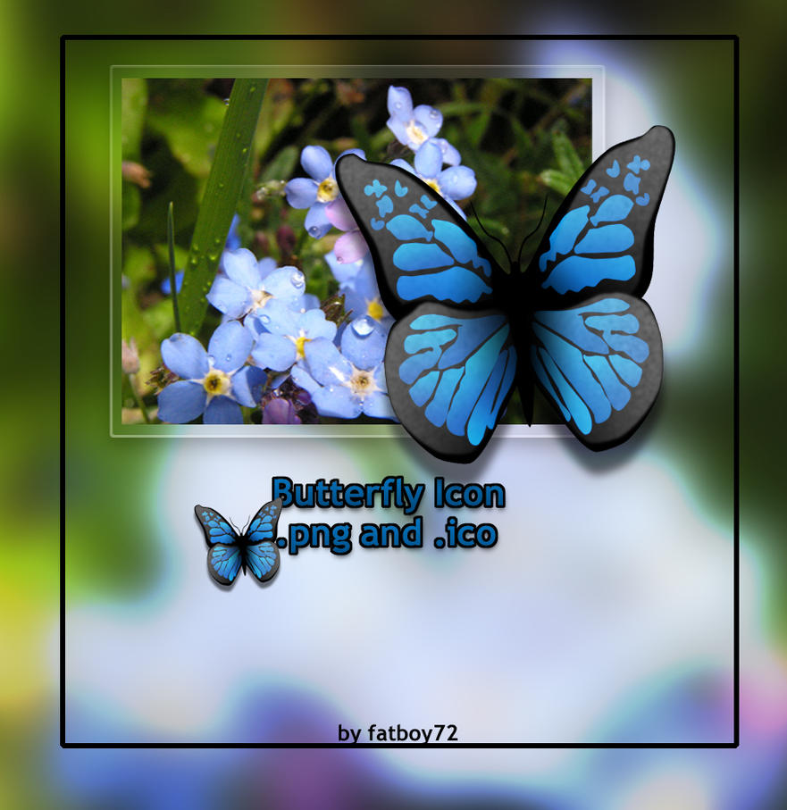 Butterfly icon by Fatboy72