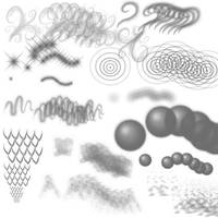 Freaky Fun Brushes by Lithe-Fider