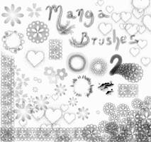 Manga Brushes 2 by Lithe-Fider