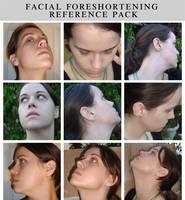 Facial foreshortening pack