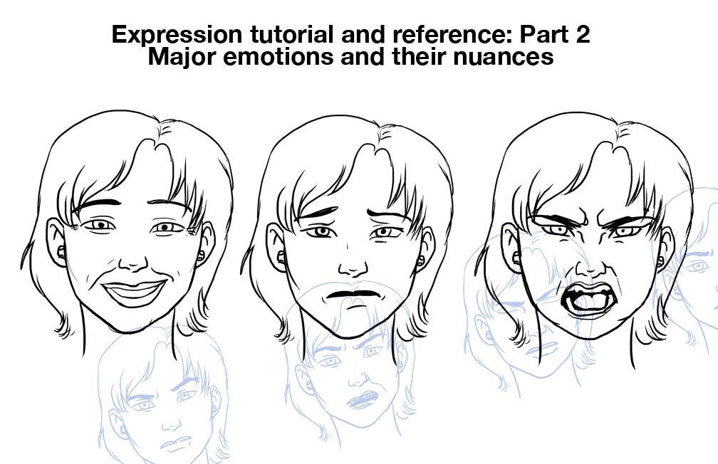 Exprssn tut pt 2: major emotes by chronicdoodler