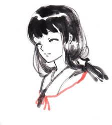 Kikyo (Inuyasha) GIF by HuoYanXing