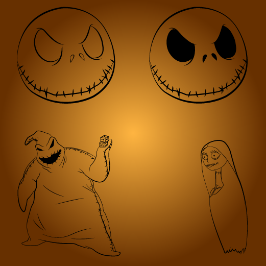 The Nightmare Before Christmas Symbol Pack By Saito-91 On