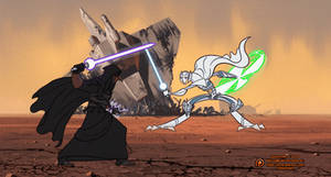 Revan vs Grievous, The Ultimate Showdown