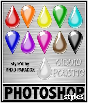 PS Styles - Liquid Plastics by JINXD-PARADOX