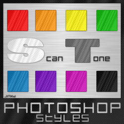 Photoshop Styles - Scan Tone 1 by JINXD-PARADOX