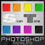 Photoshop Styles - Scan Tone 1