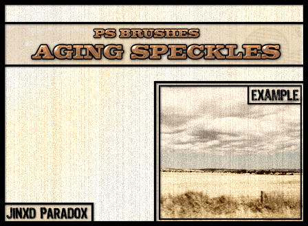 Aging Speckles - PS Brushes by JINXD-PARADOX