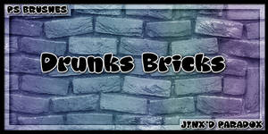 Drunk's Bricks -- PS Brushes