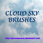 7 Cloud Sky Brushes Set