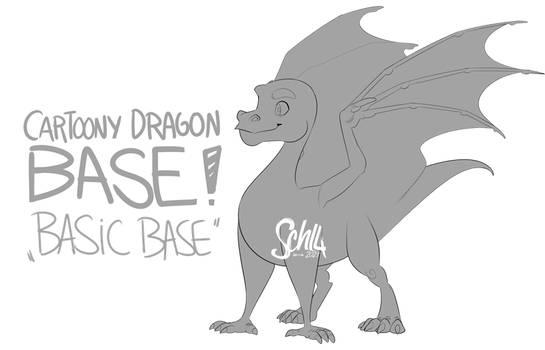 Base #1 - Basic Cartoony Dragon